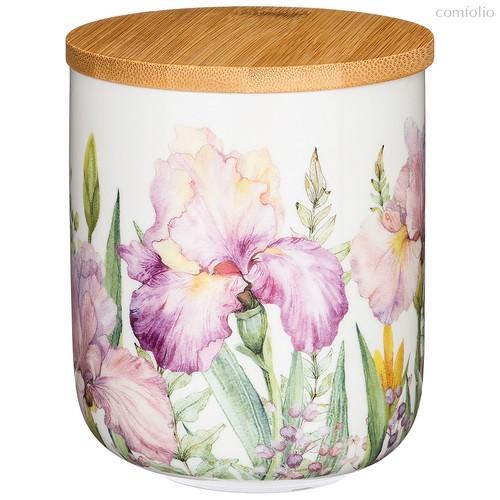 Банка с Дер.Крышкой Lefard Iris 12 см 700 мл - Songfa ceramics