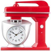 Часы Настенные Кварцевые Chef Kitchen 39 см Цвет Красный - Arts & Crafts