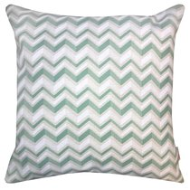 "Чехол для подушки ""Дзета"", 43х43 см, P702-1854/2, цвет зеленый, 43x43 - Altali"