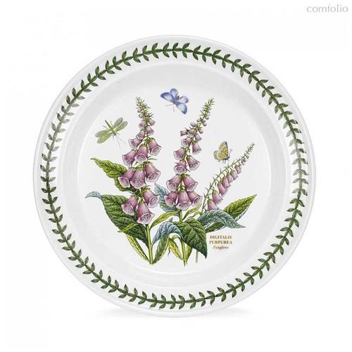 """Тарелка обеденная Portmeirion """"Ботанический сад. Наперстянка"""" 25см - Portmeirion"""