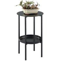 Столик-подставка Restelli, 50 см, черный - Berg