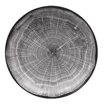 Тарелка-салатник 26 cм, высота 5 cм, серия WOODART - RAK Porcelain