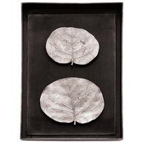 "Панно Michael Aram ""Ботаника"" 26х35см (серебрист. ) - Michael Aram"