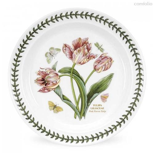 "Тарелка обеденная Portmeirion ""Ботанический сад. Тюльпаны"" 25см - Portmeirion"