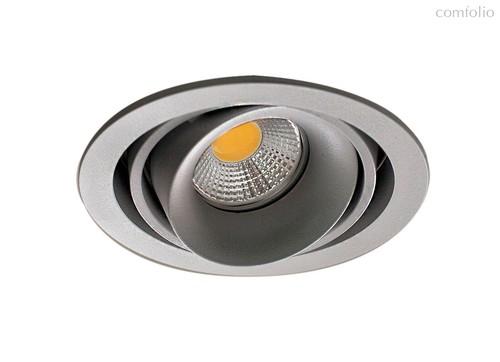 Donolux Lumme Светильник встраиваемый, MR16, макс.50Вт, GU10, IP20, Серебристо-серый/черный, D110х95 - Donolux