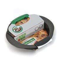 Форма для выпечки круглая с инструментом для нарезания 30*27*5см Perfect Slice, цвет темно-серый - BergHOFF