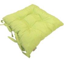 """Подушка на стул """"Фисташио"""", 41х41 см, P705-Z140/1, цвет салатовый - Altali"""