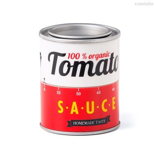 Таймер механический Tomato Sauce, цвет красный - Balvi