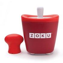 Набор для приготовления мороженого Single Quick Pop Maker красный - Zoku