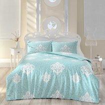 Постельное белье Ranforce 50х70*1 шт SNAZZY, цвет светло-зеленый, 1.5-спальный - Altinbasak Tekstil