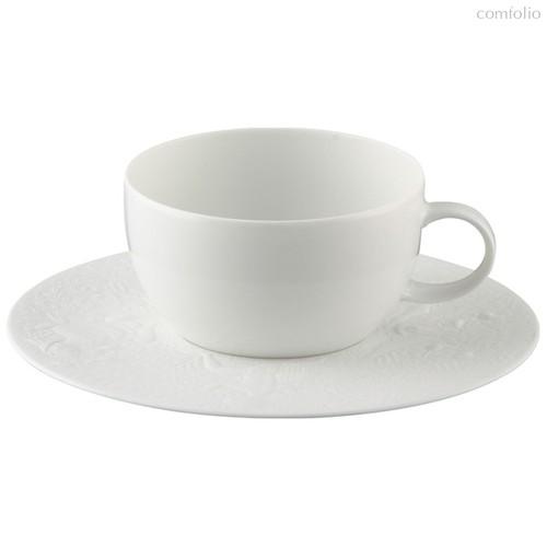 """Чашка чайная с блюдцем 250мл """"Волшебная флейта"""" (белая) - Rosenthal"""