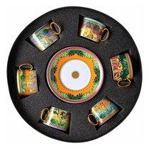 """Набор чашек чайных с блюдцами Rosenthal Versace """"Мир джунглей"""" 200мл, 6 шт в п/к - Rosenthal"""
