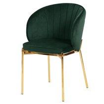 Кресло Coral, велюр, темно-зеленое, цвет темно-зеленый - Berg