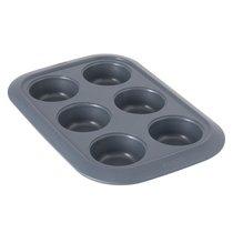 Форма для выпечки 6 кексов Gem, цвет серый - BergHOFF