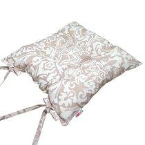 "Подушка на стул ""Арабеска"", P705-1839/1, 41х41 см, цвет сепия - Altali"