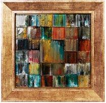 Картина стеклянная Мозаика 40х40см - Top Art Studio