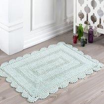 Коврик для ванной Evora, кружевной, цвет зеленый, 50x70 - Bilge Tekstil