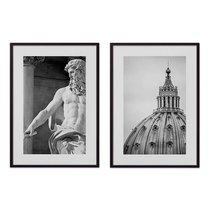 Коллаж Рим №10, 21x30 см - Dom Korleone