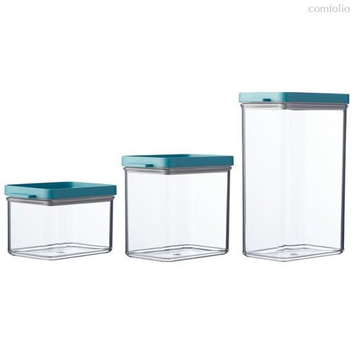 Набор контейнеров для хранения Mepal, 3 шт (мятная крышка) - Mepal