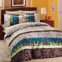 Постельное белье Altinbasak Classico, сатин, цвет зеленый, 2-спальный - Altinbasak Tekstil