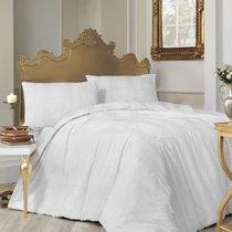 Постельное белье Ranforce Nobby, цвет белый, размер Евро - Altinbasak Tekstil