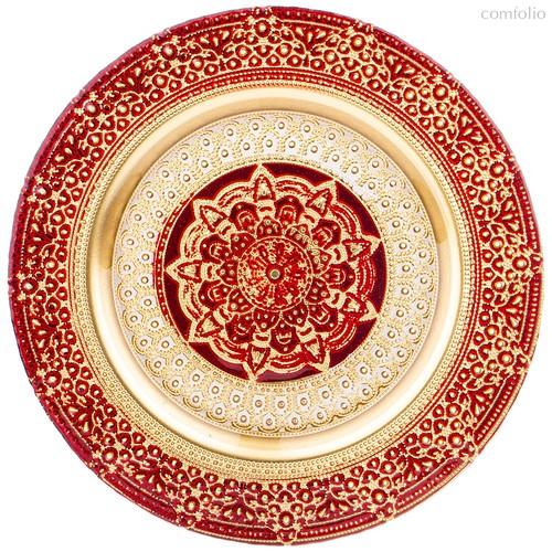 Тарелка «Jasmin» Red 28 Cm Без Упаковки - Akcam