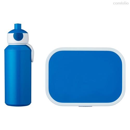 Набор детский ланч-бокс и бутылка для воды Mepal 400мл+750мл (синий) - Mepal