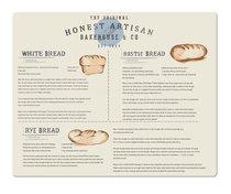 Доска разделочная стеклянная Creative Tops Французская пекарня 48х38см - Creative Tops