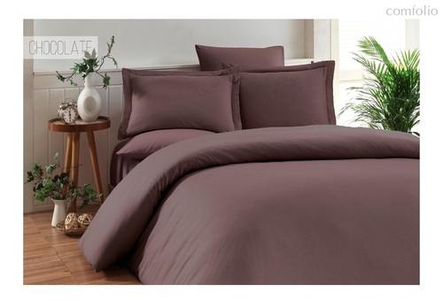 Постельное белье Karna Ruya, бамбук, цвет коричневый - Karna (Bilge Tekstil)