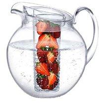 Кувшин с крышкой и емкостью для льда/фруктов Prodyne 3,3л, акрил - Prodyne