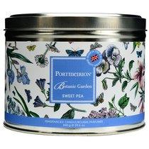 """Свеча в жестяной банке с крышкой, с 3 фитилями Portmeirion 13см""""Ботанический сад. Душистый горошек"""" - Portmeirion"""