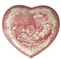 Блюдо сервировочное Рождественский Ангел 23см Деревенька - Johnson Brothers