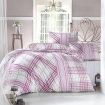 Постельное белье Ranforce 50х70*1 шт VIOLA, цвет фуксия, 1.5-спальный - Altinbasak Tekstil