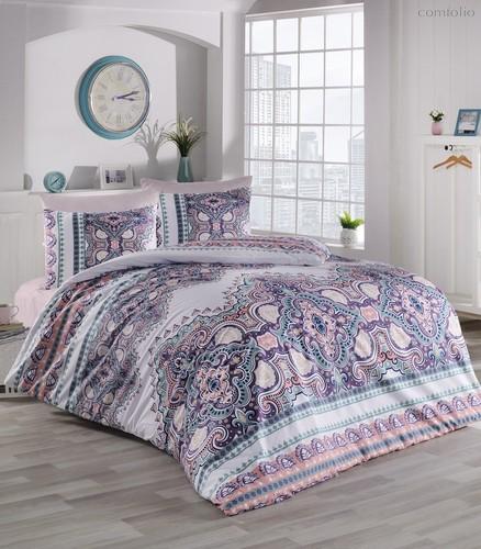 Постельное белье Ranforce Masal, цвет абрикосовый, 1.5-спальный - Altinbasak Tekstil