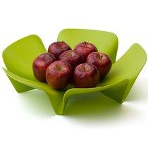 Ваза для фруктов Flower зеленая - Qualy