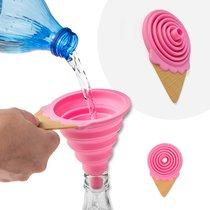 Воронка для бутылки Gelato клубника магнитная, цвет розовый - Balvi