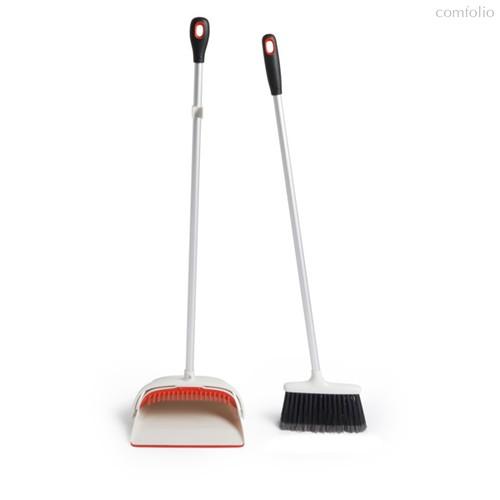 Комплект для уборки OXO (щетка для пола и совок на длинной ручке) - Oxo