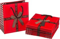 Комплект Бумажных Пакетов Из 10 шт. 14X16X7 см - Vogue International