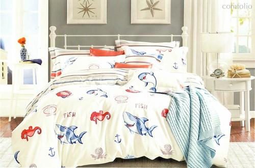Постельное белье Karna Delux Searle, подростковое, 1.5-спальный - Karna (Bilge Tekstil)