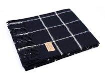 Плед NITRA 70 Navy, цвет темно-синий, 150 x 200 - Italian Woollen Treasures