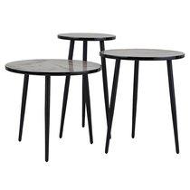 Набор кофейных столиков Vacanti, 3 шт. - Berg