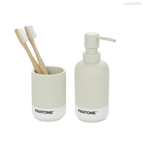 Набор для ванной комнаты Pantone серый, цвет серый - Balvi