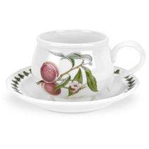 """Чашка чайная с блюдцем Portmeirion """"Помона.Персик"""" 200мл - Portmeirion"""