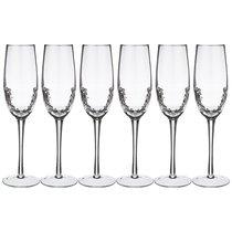 Набор Бокалов Для Шампанского Из 6-Ти шт. Айсберг Объем 270мл Высота 25см - Dalian