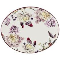 Блюдо Овальное Пурпур 31,5x25,5 см Высота 3 см - Huachen Ceramics