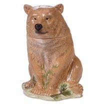 """Банка для печенья 3D Certified Intl """"Заповедный лес"""" 25см (медведь) - Certified International"""