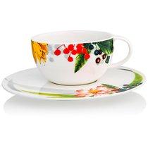 """Чашка чайная с блюдцем 250мл """"Фруктовый сад"""" - Rosenthal"""