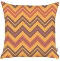 """Чехол для подушки """"Мавританский стиль"""", 43х43 см, 302-8817/6, цвет горчичный, 43x43 - Altali"""