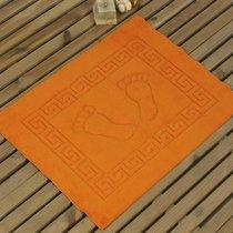 Коврик для ванной Likya, цвет оранжевый, 50x70 - Bilge Tekstil