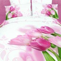 Women's Day - комплект постельного белья, цвет белый, размер Евро - Famille